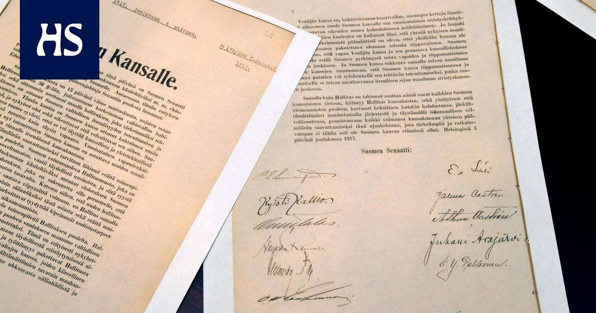 Näin Suomi itsenäistyi vuonna 1917 - Päivän lehti 6.12.2017 | HS.fi