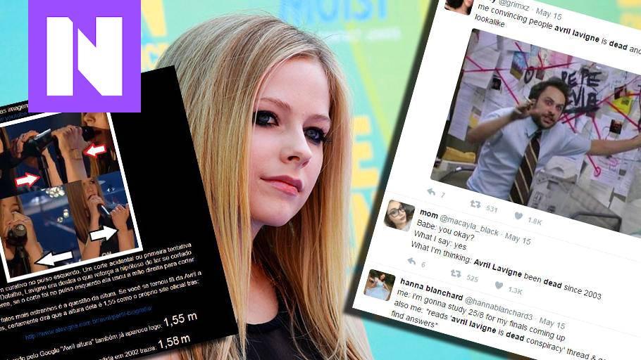 Avril Lavigne Kuollut